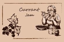 Vintage Jam Labels, Grandmothe...
