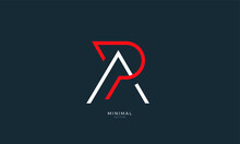 Alphabet Letter Icon Logo PA Or AP