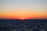 Beautiful sunset over the sea in southern Dalmatia, Croatia. - 361164138