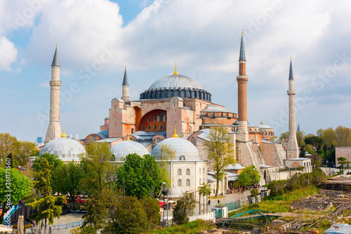 Photo Hagia Sophia in Istanbul, Turkey.