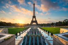Sunrise At The Eiffel Tower, P...