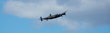 RAF Coningsby, Lincolnshire, UK, September 2017, Avro Lancaster Bomber PA474 Of The Battle Of Britain Memorial Flight