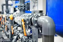 PVC Pipeline An Industrial Cit...