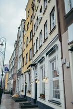 A Narrow A City Street