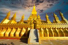 Vientiane Laos Pha That Luang ...