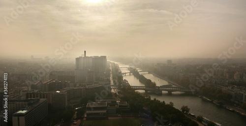 Valokuva Paris vu de la tour Eiffel