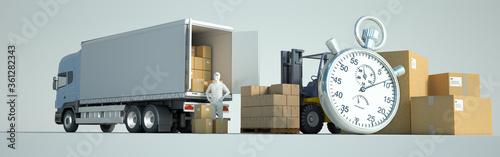 Fototapeta Efficient and reliable distribution