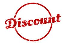 Discount Sign. Discount Round ...