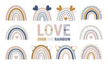Rainbow, Boho Rainbow, Cute, C...