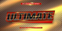Editable Text Effect - Ultimat...