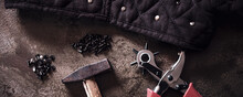 A Lot Of Tools Like A Leather ...