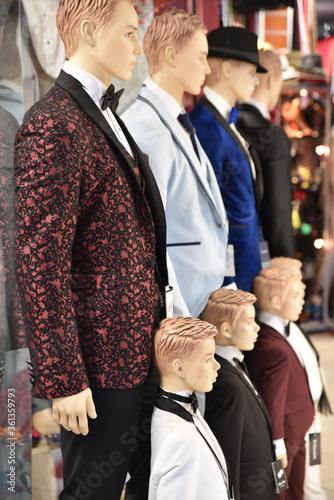 Fotomural Mannequins mode masculine