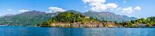 Panorama Landscape Of Bellagio...