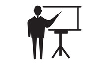 Presentation Icon Vector Graph...