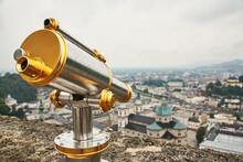 Sightseeing Telescope On The O...