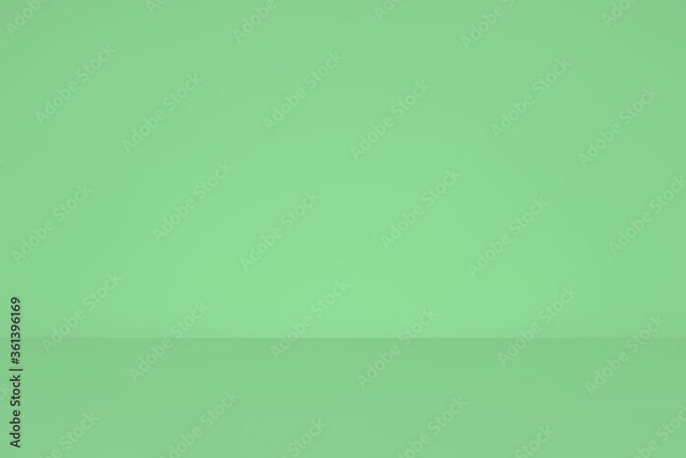 Fototapeta Fondo de dos tonos color verde con profundidad