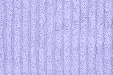 Pale Purple Plush Lined Fabric...