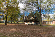 Bournville, Birmingham, UK, October 29th 2018, The Rest House On The Green