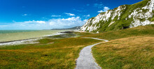 Scenic View Of Samphire Hoe Co...