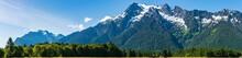 Panorama Of Whitehorse Mountai...