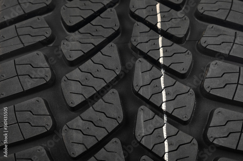 New tyre for car Canvas Print