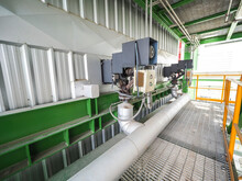 Soot Blower Systems Of Biomass Power Plant.