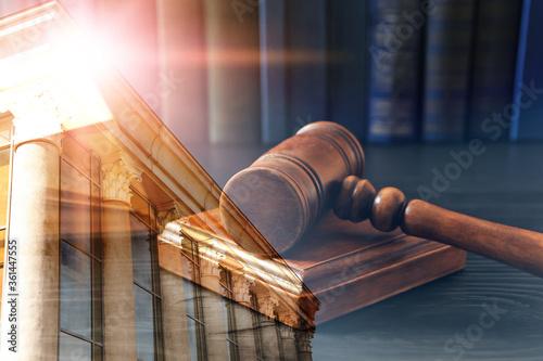 Law protection Fototapet