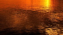 Reflective Water Surface Duri...