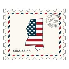 Mississippi Postage Stamp