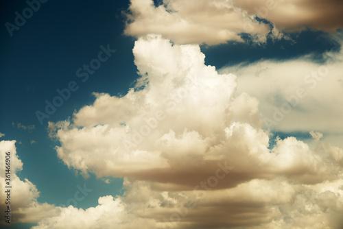 Desert Cumulonimbus Approach Canvas Print