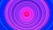 Leinwanddruck Bild - Multicolored circular 3d background illustration. Designer original background.
