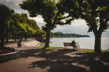 Lakeside Promenade Park In Kon...