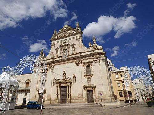 Italy, Apulia, Galatina, the Matrix Church, Wallpaper Mural