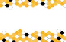 Hexagon Bee Hive Vector Abstra...