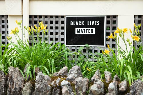 Vászonkép Black Lives Matter