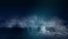 Dark Dramatic Background. Wet ...