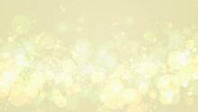 金色の煌めき