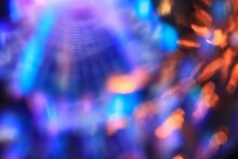 Horizontal Shot Of Glow Vortex...