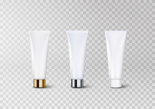 Tube Packaging Set With White ...