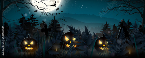 Photo Halloween banner