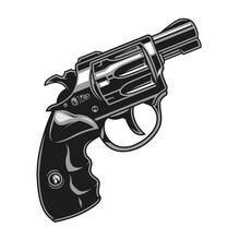 Vintage Concept Of Revolver