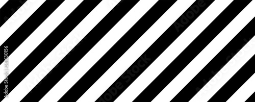 Fototapeta Abstract dark with white op art stripe line design background