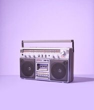 Vintage Retro Boom Box Ghetto ...