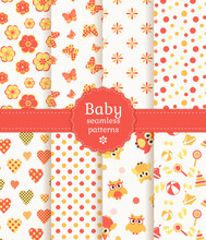Baby Seamless Patterns In Past...