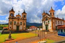 Churches In Mariana, Minas Ger...
