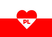 The National Flag Of Poland In...