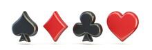 Spade, Diamond, Club And Heart...