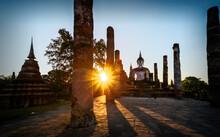 Wat Mahathat Sukhothai Thailand