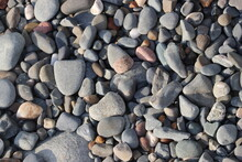 Lots Of Different Sized And Coloured Pebbles