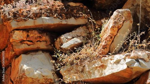 Fototapeta textura de piedras